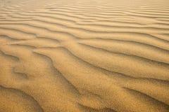 Sables de désert Photos libres de droits