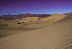 Sables de désert Images stock
