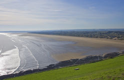 Sables de Saunton Photo stock