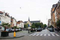 Sablon square, Brussels, Belgium Royalty Free Stock Photography