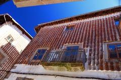 Sabor de Candelario na escala de Gredos na Espanha fotografia de stock