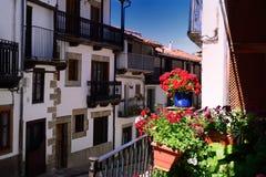 Sabor de Candelario na escala de Gredos na Espanha imagens de stock