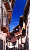 Sabor de Candelario na escala de Gredos na Espanha fotos de stock