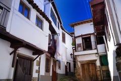 Sabor de Candelario na escala de Gredos na Espanha imagens de stock royalty free
