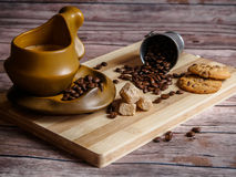 Sabor de Coffe imagens de stock
