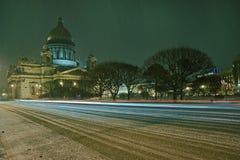 Sabor van Isaakievsky Stock Foto