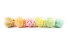Sabores clasificados del helado Imagenes de archivo