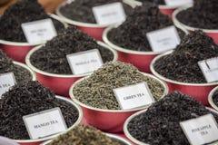 Sabores del té Imagen de archivo libre de regalías