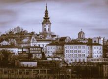 Saborna教会在贝尔格莱德,塞尔维亚 免版税库存照片