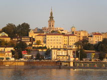 Saborna crkva Beograd Stock Images