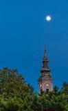 Saborna crkva. At the night, Belgrade Serbia Royalty Free Stock Photos