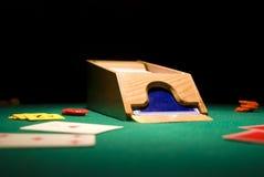 Sabot de casino Images stock
