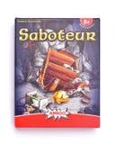Saboteur mining themed card game Stock Photos