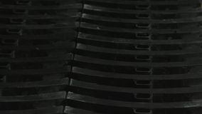 Sabots de frein details Fin vers le haut banque de vidéos