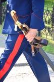 Sabre do cossaco Foto de Stock Royalty Free