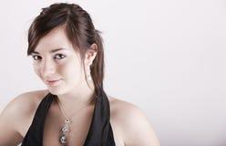 Sabrina con è poco sorriso Immagine Stock