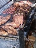 Sabrosa di Parrillada Berbecue delizioso & x28; grill& x29; Fotografia Stock