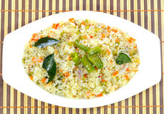 Sabudana khichadi Stock Photo