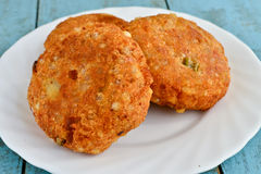 Sabudana Vada Royalty Free Stock Photos