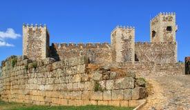 Sabugal castle Royalty Free Stock Photos