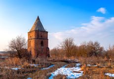 Saburovo Fortress near Oryol Royalty Free Stock Images