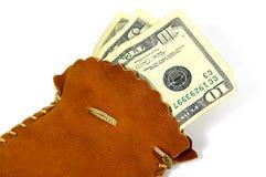 Sac à argent photo libre de droits