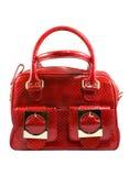 Sac à main à la mode rouge Images libres de droits