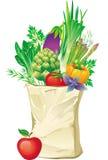 Sac à provisions Photo stock