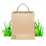 Sac à provisions d'Eco Photos stock