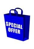 Sac à provisions d'offre spéciale Photo stock