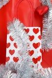 Sac à provisions de Noël Image libre de droits