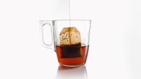 Sac à thé Images libres de droits