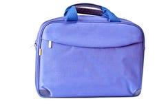 Sac bleu Photographie stock