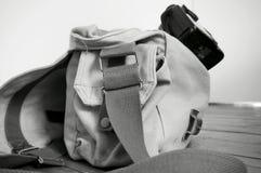 Sac A d'appareil-photo Images stock