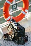 Sac d'appareil-photo Image libre de droits