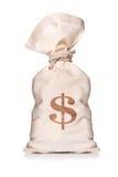 Sac d'argent Image libre de droits