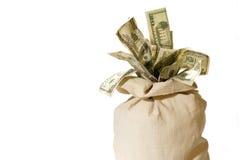 Sac d'argent ! Images libres de droits