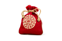 Sac de bijoux de la Chine Photographie stock