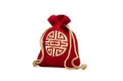 Sac de bijoux de la Chine Image libre de droits