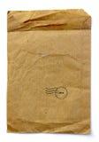 Sac de Brown, un matériau de réutilisation Image libre de droits