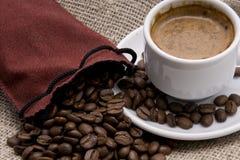Sac de café Photos stock