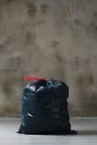 Sac de déchets photo stock