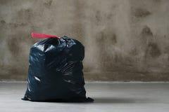 Sac de déchets photographie stock
