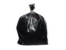sac de déchets d'isolement photographie stock