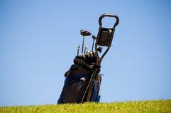 Sac de golf Photo libre de droits
