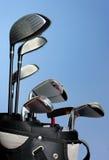 Sac de golf photographie stock libre de droits