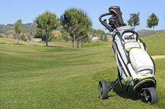 Sac de golf Images stock
