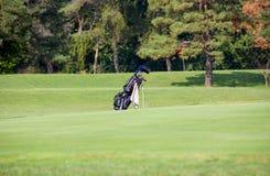Sac de golf Image libre de droits
