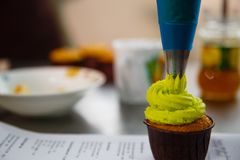 Sac de pâtisserie photos libres de droits