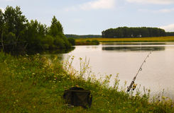 Sac de pêche Images stock